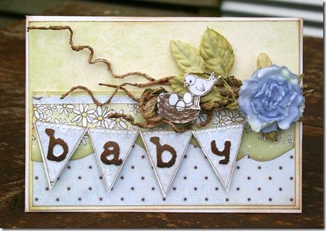 Baby banner card NicH 2