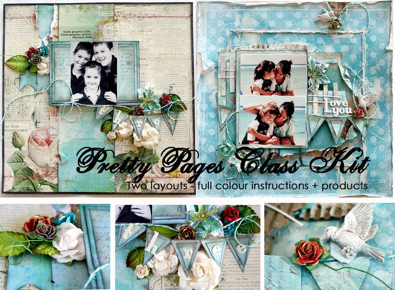 Pretty pages blog graphic