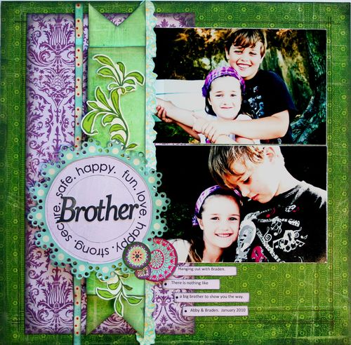 Brother - BasicGrey Indie Sampler layout 2011
