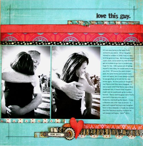 Love this guy.  Basicgrey Indie Sampler layout 2011