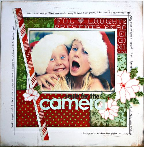 Smile for the Camera - BasicGrey Nordic - Sampler LO