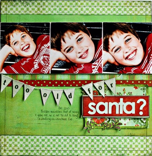 Too old for Santa?  Nordic - BasicGrey Sampler 2011